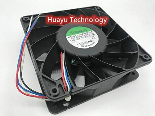 huayu for SUNON 12038 PMD1212PMB1-A DC12V 22.2W 4-Wire Temperature Controlled Cooling Fan