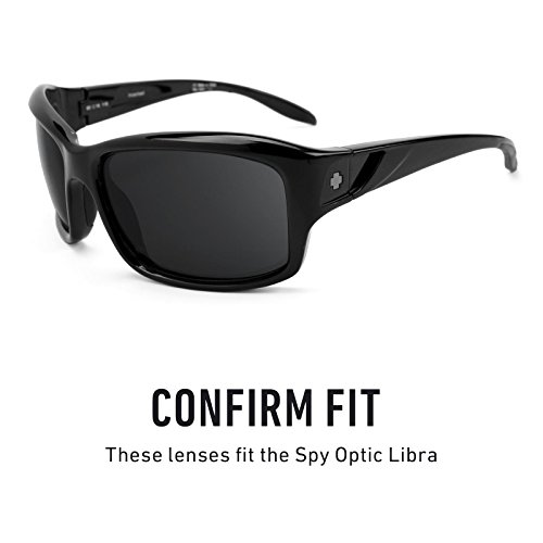 Opciones Optic repuesto Lentes — Polarizados Libra Chrome Negro Revant Mirrorshield múltiples para de Spy Bxw8qBUCX