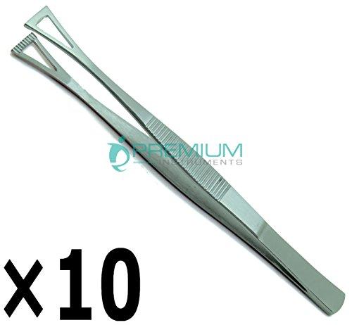 10× Collin Duval Tissue Forceps 15cm Body Piercing Tweezer Premium Instruments by Premium Instruments (Image #5)