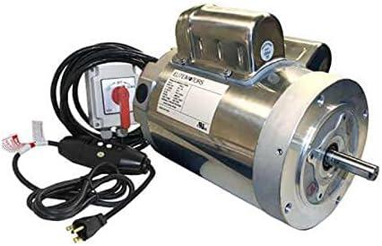 Amazon Com Elite 1 1 2 Hp Stainless Steel C Face Boat Lift Motor