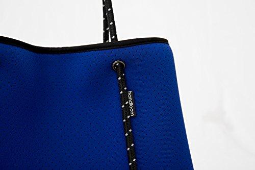 Large Neoprene Beach Tote Bag - Multipurpose with Matching Purse Inner Pocket by Handloom Homewares (Image #4)