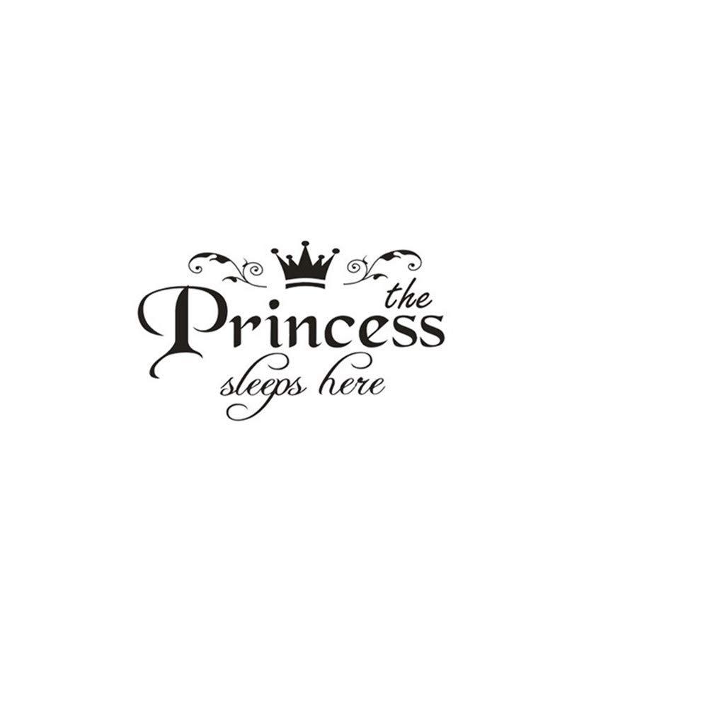 YWLINK Princesa DecoracióN para El Hogar Etiqueta De La Pared ...