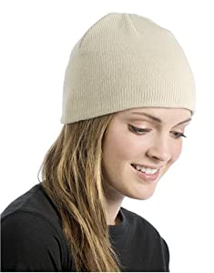ECOnscious 100% Organic Cotton Thin Rib Beanie from Econscious