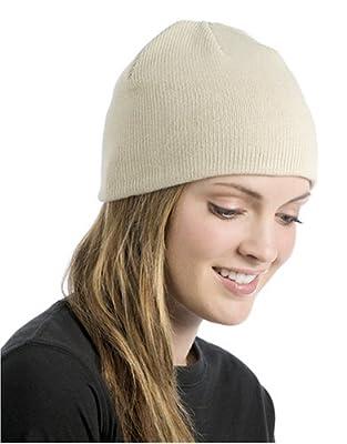 ECOnscious 100% Organic Cotton Thin Rib Beanie