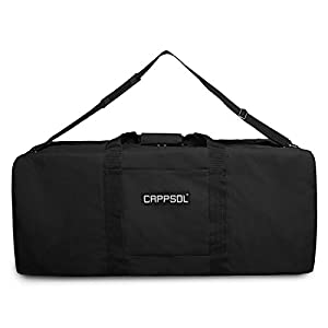 Cappsol Duffel Large Sport Gear Equipment Travel Bag Heavy Duty Cargo Rooftop Rack Bag