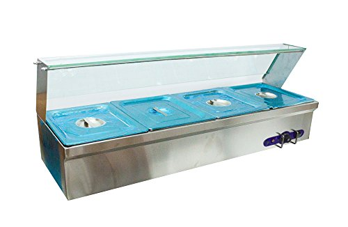 Pan Buffet BainMarie Food Warmer Steam Table W V - Used buffet steam table for sale