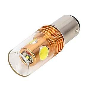 1157 9.5W 800lm 3-SMD LED y 1-Cree XP-E de la luz blanca del coche de la lámpara de copia de seguridad (12 ~ 24V)