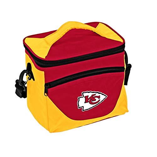 Logo Brands NFL Kansas City Chiefs Halftime Lunch Cooler, One Size, Black