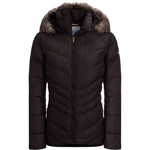 Jacket Womens Down Icy Black Columbia Heights 0ZYaFq