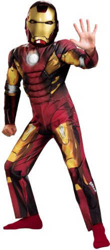 Iron Man Mark Vii Halloween Costume (The Avengers Iron Man Mark VII Classic Muscle Chest)