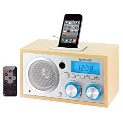 Craig Retro iPod/iPhone Docking Clock Radio (CMB3215)