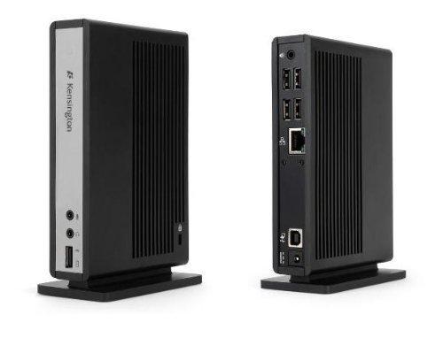 Kensington Universal Notebook Laptop Desktop PC Docking Station Dock sd120 mit Audio , Ethernet und 4 x USB 2.0 Anschlüsse