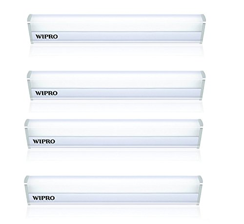 Wipro Garnet 5 Watt Led Batten  Pack Of 4  Cool Day Light
