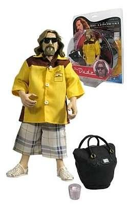 The Big Lebowski Urban Achiever Action Figure the Dude