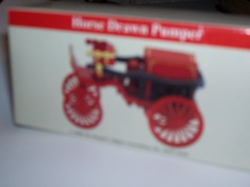 Fire Engine Miniature Horse Drawn Pumper From Readers Digest 2000