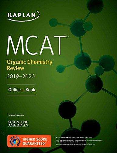 MCAT Organic Chemistry Review 2019-2020: Online + Book (Kaplan Test Prep)