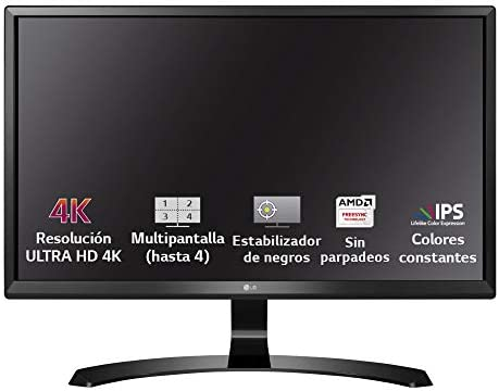 LG 27UD58-B - Monitor UHD 4K de 27 pulgadas (Panel IPS, 3840 x 2160 pixeles, 16:9, 250 cd/m², 1000:1, NTSC 72%, 5 ms) Color Negro: Lg: Amazon.es: Informática
