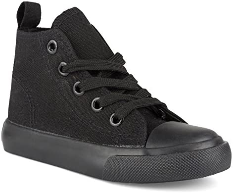 Toddlers /& Kids ZOOGS Fashion High-Top Canvas Sneakers Girls Boys Youth