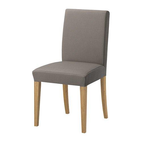【IKEA/イケア】HENRIKSDAL チェア, オーク, ノールハーガ グレーベージュ B00ZF3NTIC