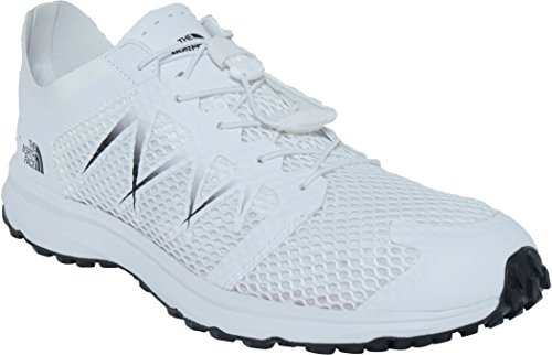 The North Face T92ya9lg5, Zapatillas de Trail Running para Hombre Blanco (White)