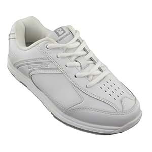 Brunswick Men's Flyer Bowling Shoes (White, 6)