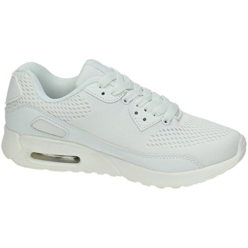 Sport de Femme Blanc Chaussures DEMAX qEzxfxU