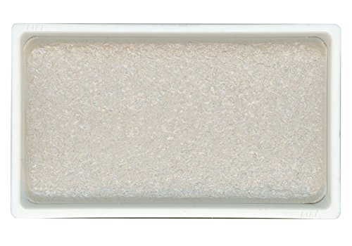 KitAbility Gansai Tambi Watercolor Paint Pan Silver Number 95 Single Solid Color fits in 12 18 24 and 36 Trays Japanese Traditional Solid Water Color