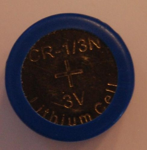 (6 pcs CR13N Bulk 3V Lithium Battery Compatible with CR1/3N DL1/3N 1/3N K58L 2LR76 CR11108 72L76 KL1/3 plus Hillflower Coupon)