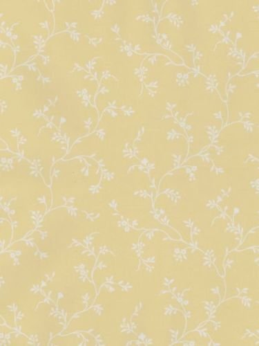 Norwall Gc29821 Grand Chateau Floral Wallpaper Yellow