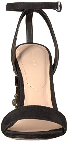 Luciaa Sandal 7 Black Aldo US Dress B Women BqX4Hw5xt