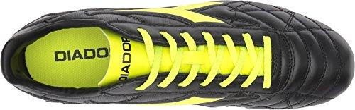 Diadora Unisex M. Winner RB Lt MG14 Black/Yellow Flourescent FoHwdCzuA
