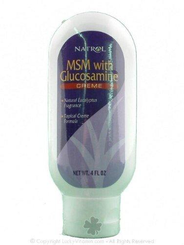 Natrol Msm/Glucosamine Creme 4 oz ( Multi-Pack)