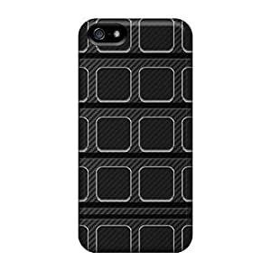 Zheng caseAbrahamcc Case Cover For Iphone 5/5s - Retailer Packaging Carbon Fiber Shelf Protective Case