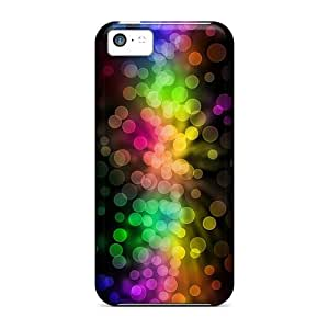 Anglams KhQ5118PqOi Case Cover Skin For Iphone 5c (colorful Bokeh)
