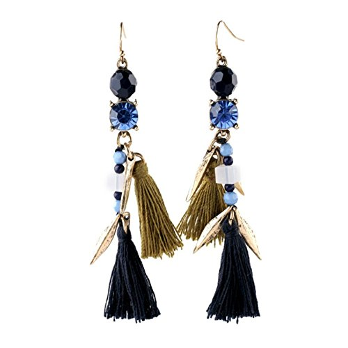 ptk12 Boho Chic Handcraft Brinco From India Aliexpress New Hot Seller Long Earrings Tassel