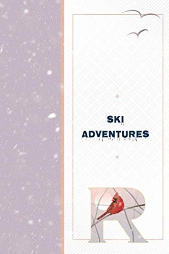Ski Adventures R: Trail Map Log - Great Outdoors Skiing Adventure Notebook - Family Skiing Memories Log