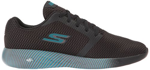 Skechers Performance Go Run 600-Spectra, Zapatillas Deportivas Para Interior Para Mujer Negro (Black/blue)