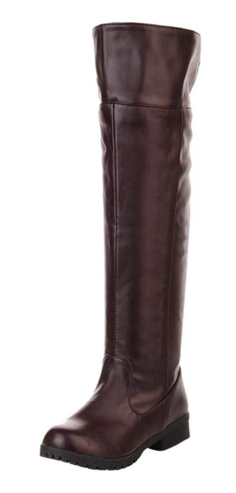 Adult Men's Cos-play Knee-high Boot Riding Boots