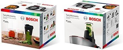 Bosch TastyMoments 5-en-1 MUZ9TM1 - Accesorios para robots de cocina OptiMUM de Bosch, color transparente y negro: Amazon.es: Hogar