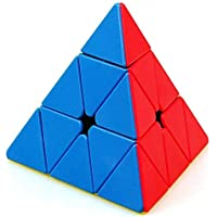 CocoRio High Stability Stickerless Speed Cube Puzzle Toy (Triangle Pyraminx Cube)