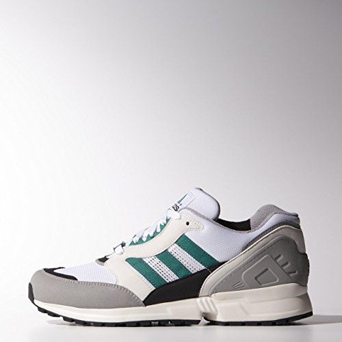 adidas Originals EQUIPMENT RUNNING CUSHION Scarpe Sneakers Moda Bianco Verde Grigio per Uomo Torsion System