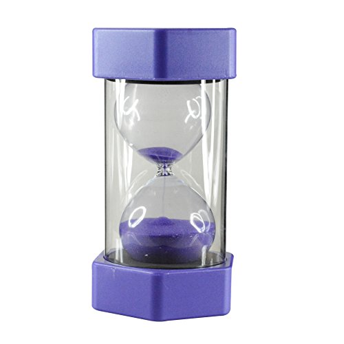 Purple Hourglass Sand Timer for 20 Mins