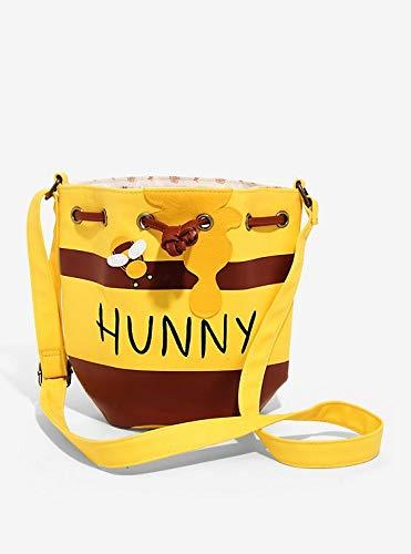 Loungefly Winnie the Pooh Honey Pot Crossbody bag Standard,Yellow