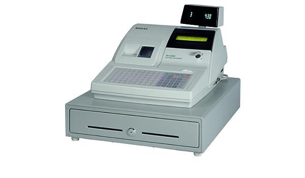 Caja Registradora, Samsung ER de sistema 430 m, caja con 2 estaciones de impresora térmica, cajón y cliente pantalla: Amazon.es: Oficina y papelería