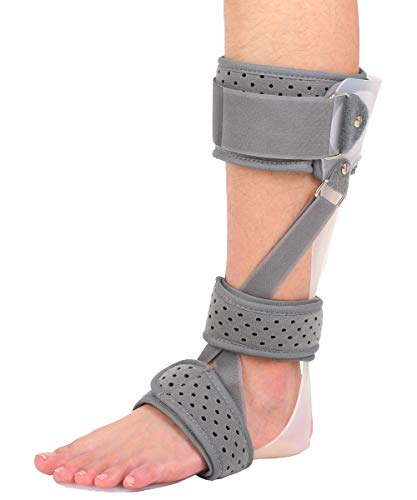 Ankle Foot Orthosis, 3 in 1 Medical Drop Foot Postural Correction Brace AFO Brace for Stroke Foot Drop Charcot Marie Tooth Disease (Left/L)