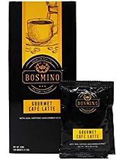 Bosmino Gourmet Cafe Latte Water Soluble Ganoderma Lucidum Colombian Coffee (1 Box: 20 Sachets)
