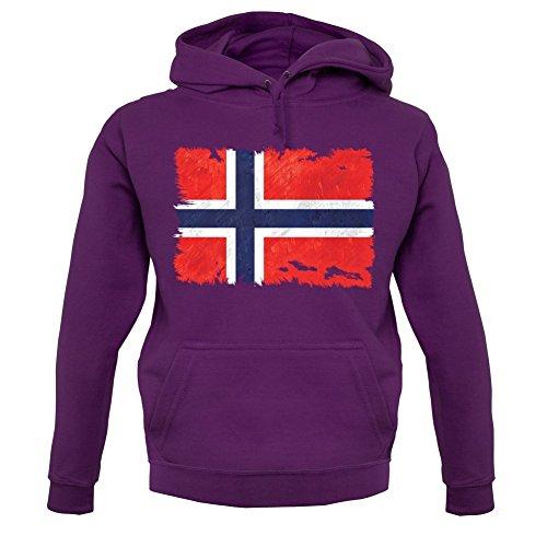 Norway Unisexe Dressdown Violet À Grunge 12 Capuche shirt Style Drapeau Couleurs norvège Sweat dwwgqUp