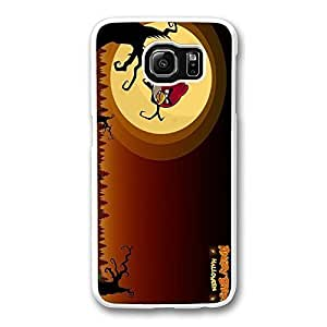 Samsung S6 Case, Galaxy S6 Case - Highly Protective White Hard Case for Samsung Galaxy S6 Holloween Angry Birds New Release Back Case for Samsung Galaxy S6