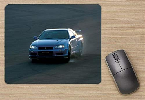 Nissan Skyline GT-R V-spec II 2000 Mouse Pad, Printed Mousepad