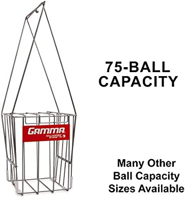 Gamma 75 - Cesta para pelotas de tenis